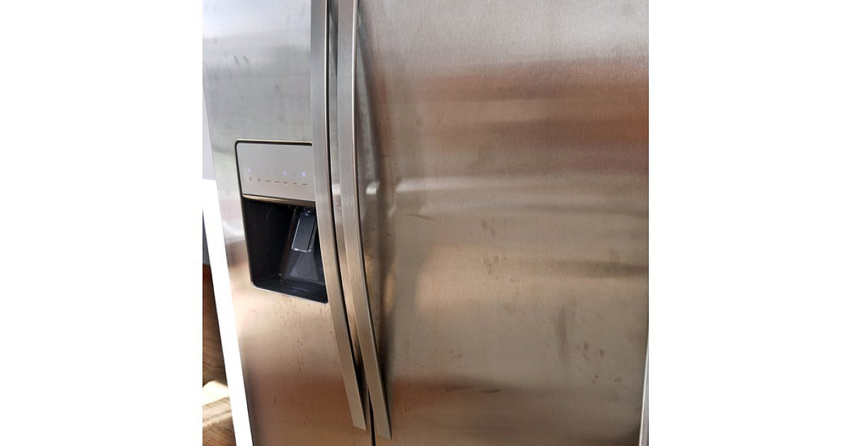 stainless steel refrigerator how to clean absolutely