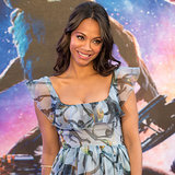 Zoe Saldana Pregnancy Style Guardians of the Galaxy | Video