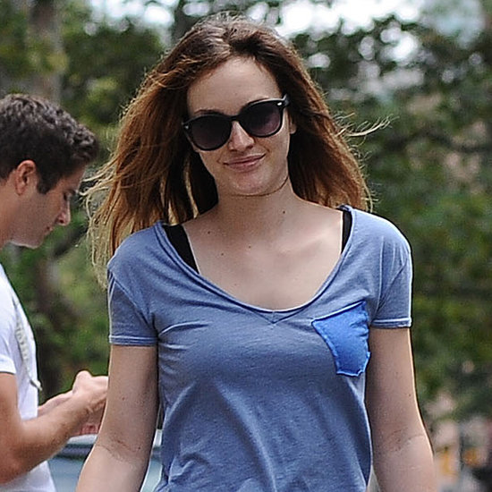 Leighton Meester and Adam Brody Walking Their Dogs in July