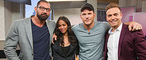 Zoe Saldana Tells Us How She Kept Up With the Boys in Guardians of the Galaxy