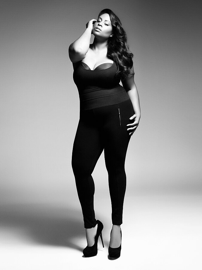 """Know What Works """"As a plus-size model, you have to know your angles. That's number one. You have to know about colors and prints, because certain things  designers will want to put on you are not made for a plus-size woman, and it's not going to work."""" Speak Up For Yourself """"A lot of designers are not plus-size themselves, and the plus-size industry is a specific industry, so sometimes they don't know what we really want. But I'm a living person, and I know what a plus-size woman would like to wear. So, of course, I do let the designers know: 'Yes, I want to show my legs off. Yes, I would love to wear a miniskirt. I want an off-the-shoulder top.' We love to show our shoulders off. Some designers get touchy, but when they take that direction and they see that a garment sells, they learn to trust you and the fit models."""" Source: Enrique Vega For The Fount Group"""