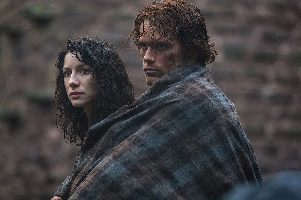 "When Claire (Caitriona Balfe) finds herself shifted from the 1940s to the 1700s, she ""has"" to ride with Jamie (Sam Heughan), all pressed up against him."