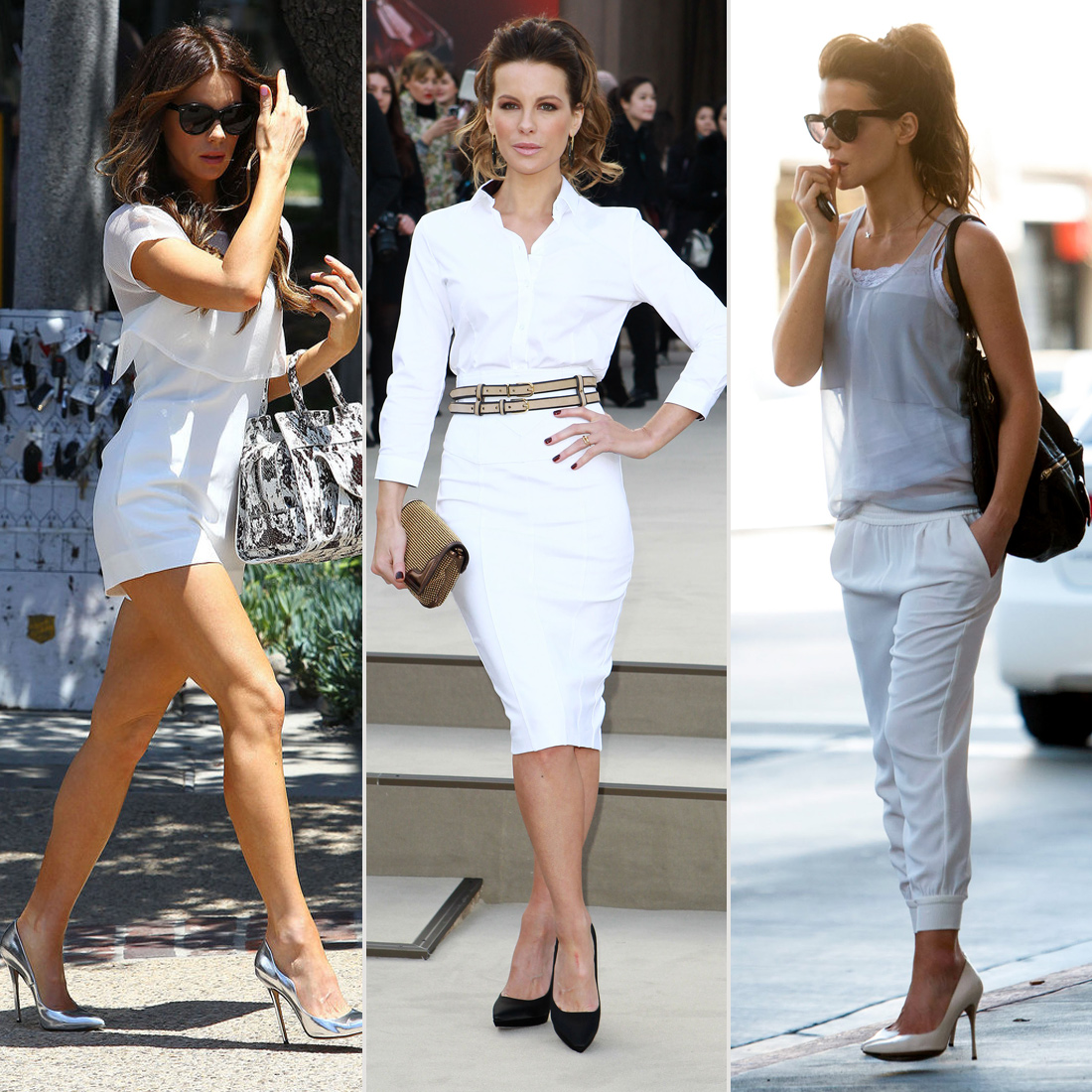 All-White Casual Wares