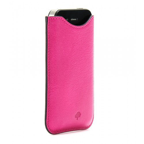 Mulberry Leather iPhone Case