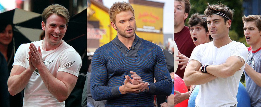 14 Celebs Who Can't Contain Their Muscles