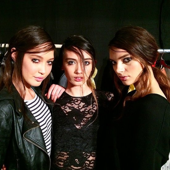 Backstage at the David Jones 2014 2015 Spring Summer Launch