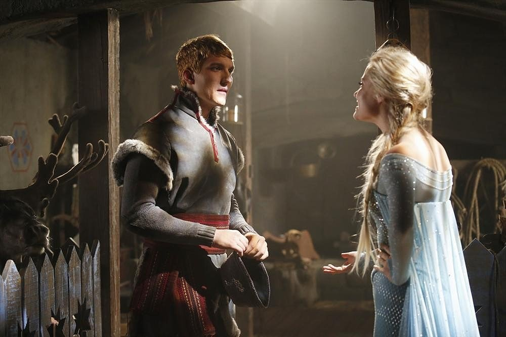 Scott Michael Foster as Kristoff.
