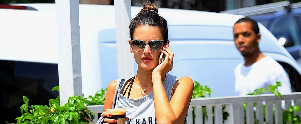 Alessandra Ambrosio Wants You to Work Hard but Play Harder