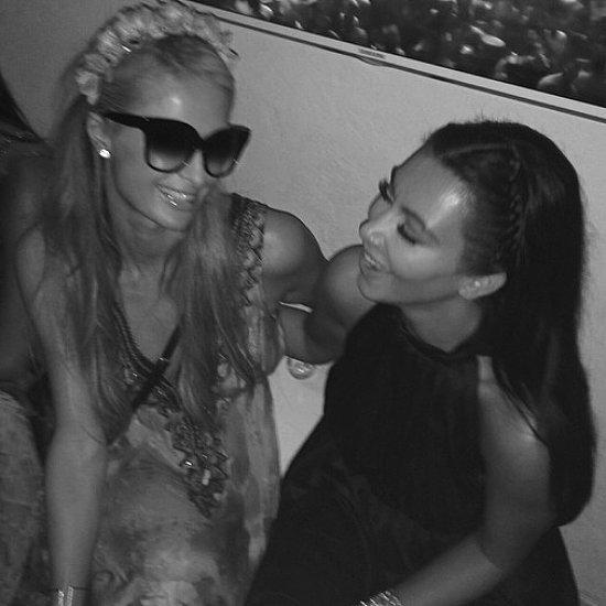 What Feud? Kim Kardashian and Paris Hilton Reunite and Get Nostalgic