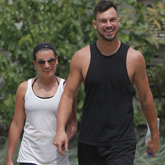 Lea Michele and Matthew Paetz Hold Hands | Pictures