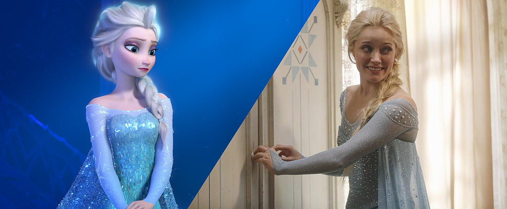 How Much Do Once Upon a Time's Frozen Characters Resemble the Animated Versions?