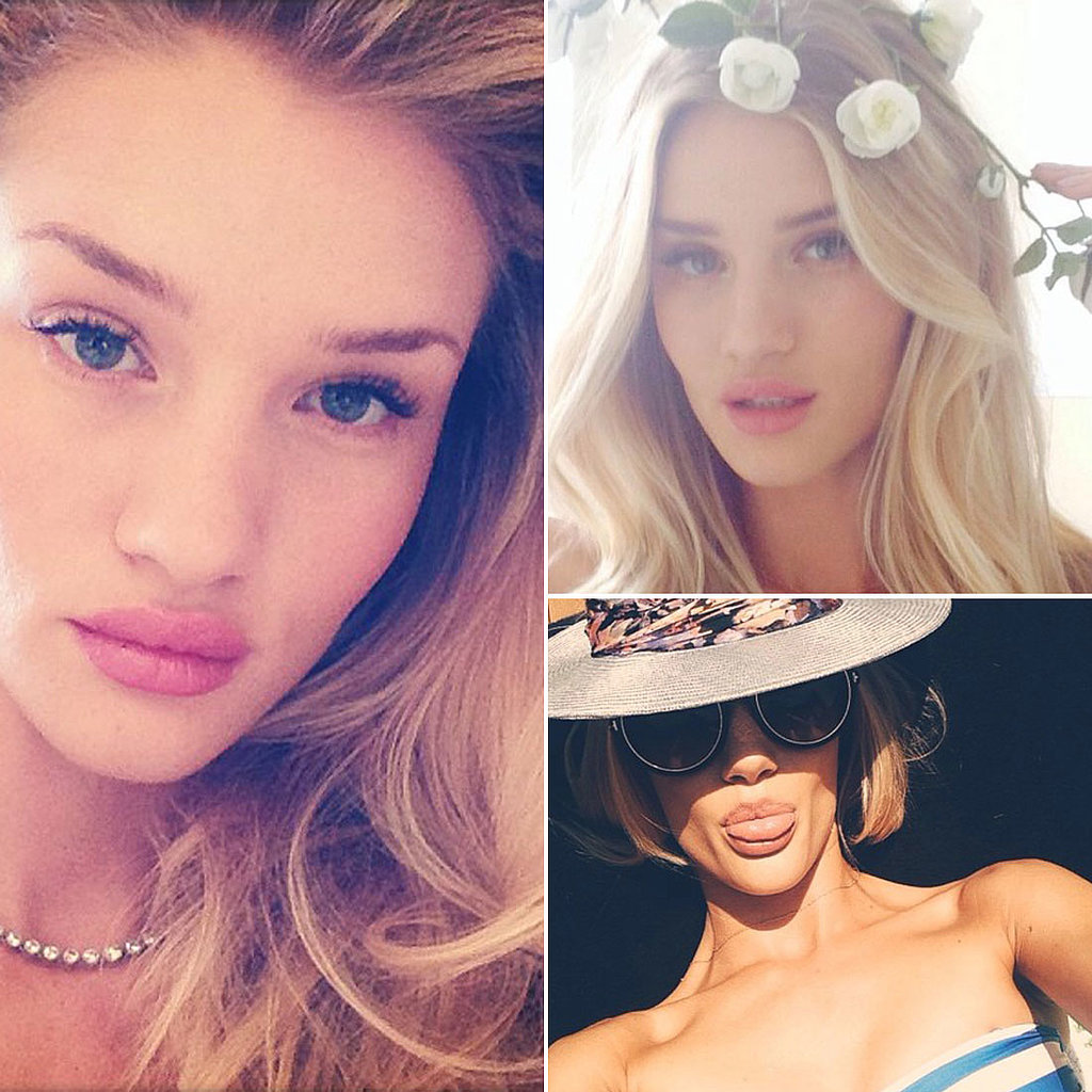 Rosie Huntington Whiteley Instagram Beauty Inspiration ... Rosie Huntington Whiteley Instagram