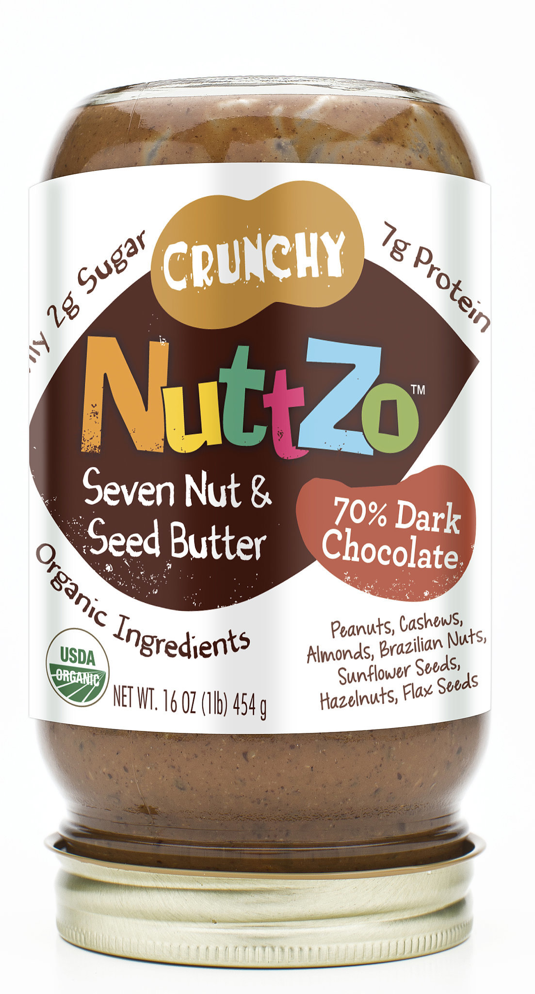 Nuttzo Dark Chocolate Crunchy Nut Butter