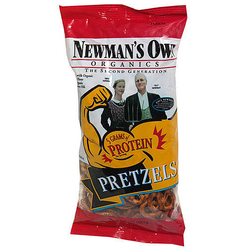 Newman's Own High Protein Pretzels