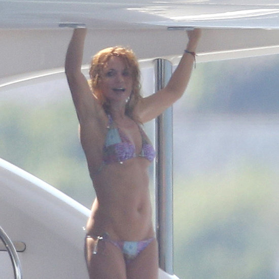 Geri Halliwell in a Bikini With Christian Horner | Pictures