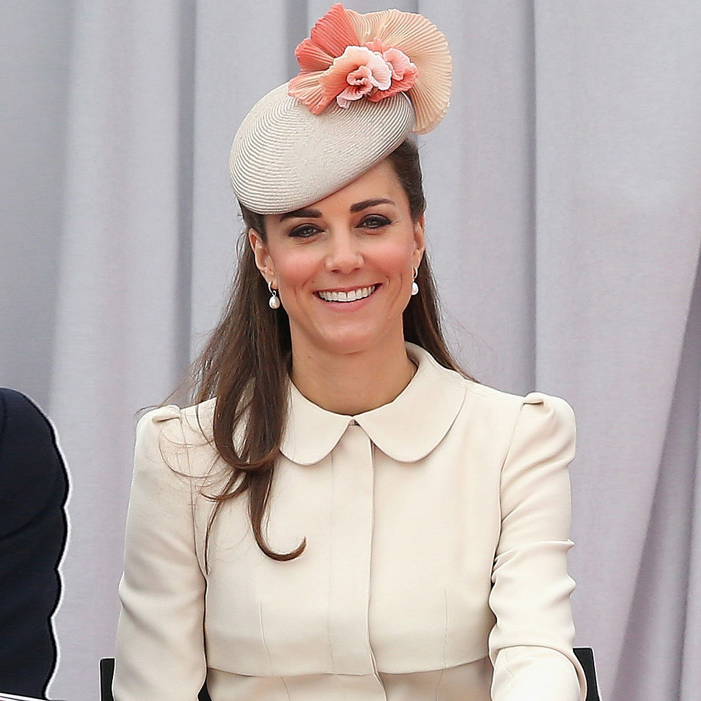 Kate Middleton White Dress in Belgium