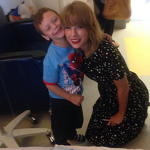 Taylor Swift Visits a Young Cancer Patient | Video