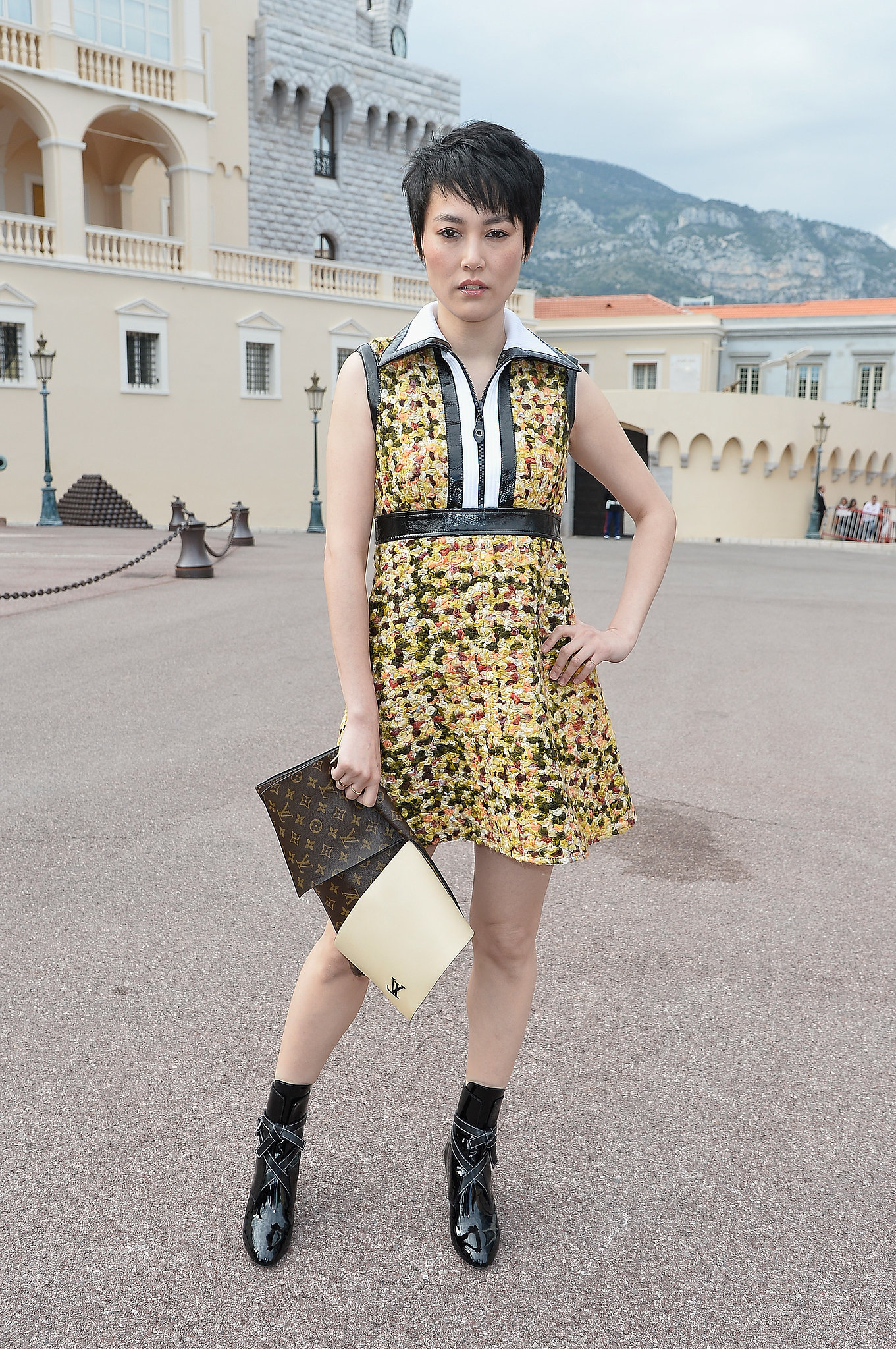 Rinko Kikuchi Carrying Louis Vuitton
