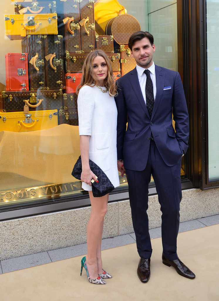 Olivia Palermo Carrying Louis Vuitton