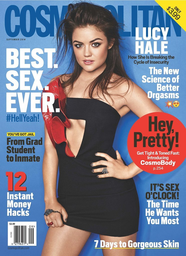 """Lucy Hale Talks About Her """"Uncomfortable"""" Fifty Shades Audition"""