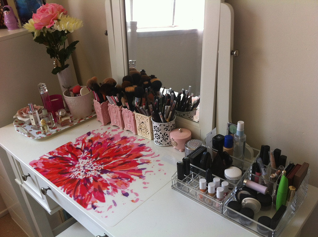 How To Organize Your Makeup Popsugar Beauty