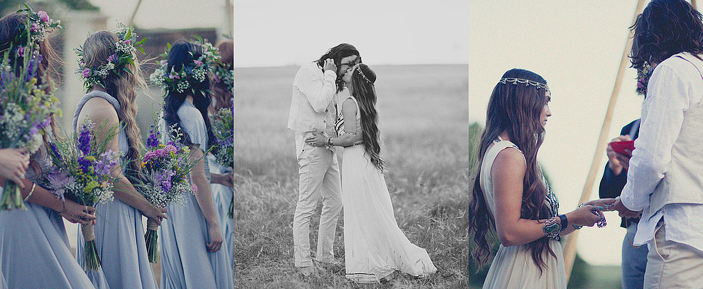 POPSUGAR Shout Out: This Boho-Texan Wedding Is For All the Romantics