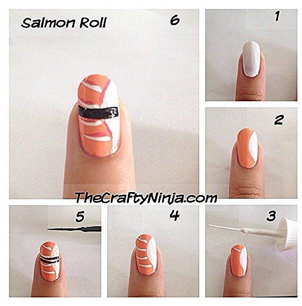 Make a Salmon Roll