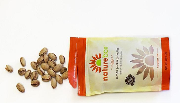 NatureBox Lemon Pistachio Nuts