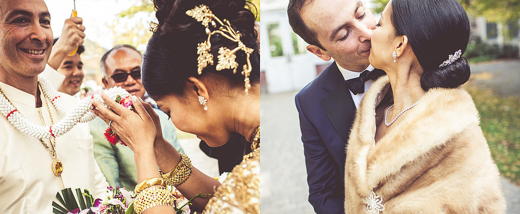 This Cambodian-Canadian Wedding Is a Chic Blend of Cultures