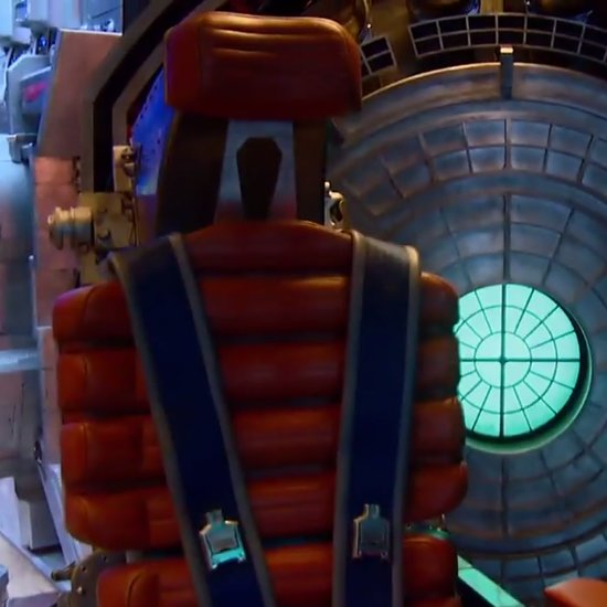 Guardians of the Galaxy Spaceship