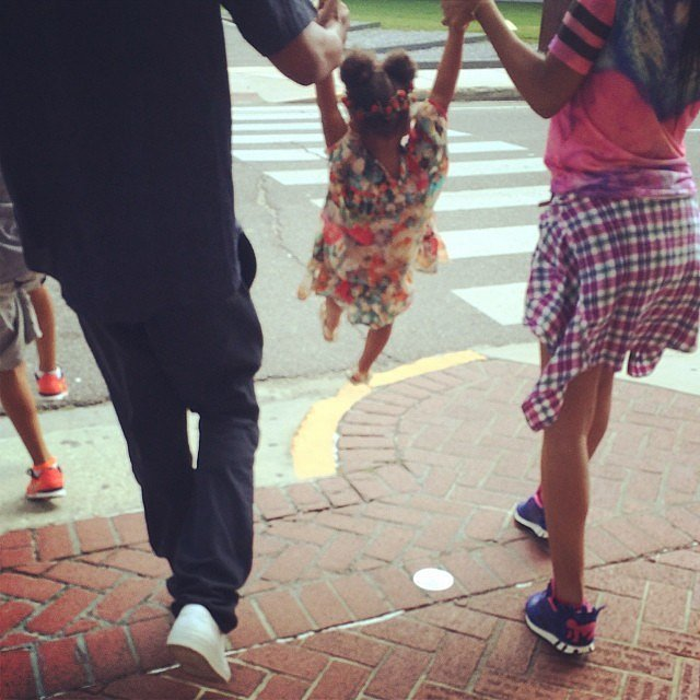 "Source: Instagram user beyonce  July 16: The singer posted a photo of her and Jay holding hands along with a review of their show that reads, ""Beyoncé and Jay Z really have no equals. As individuals, they're impressive. But together, they're unstoppable."" July 19: Page Six reported that the end is near for the couple; according to a source, ""They are trying to figure out a way to split without divorcing"" and ""made the classic mistake of thinking a child would change everything and help to rekindle the initial fire."" The story also reported that Jay and Bey hired marriage counselors to travel with them during their tour. July 21: Blind Gossip posted an item alleging that ""They are splitting up everything (properties, money, children) right now but will be keeping up appearances until the announcement. They are separating this year, with the divorce to follow in about six months. It will be very clean and very fast."" The same day that the blind item was released, Beyoncé shared a sweet photo on Instagram of her and Jay Z on an outing with their 2-year-old daughter, Blue Ivy. July 26: A source told Page Six that ""There's face-saving involved — they don't want to be looked at like other celebrities out there,"" adding, ""They are business people first, entertainers second. Husband and wife comes somewhere down the line."""
