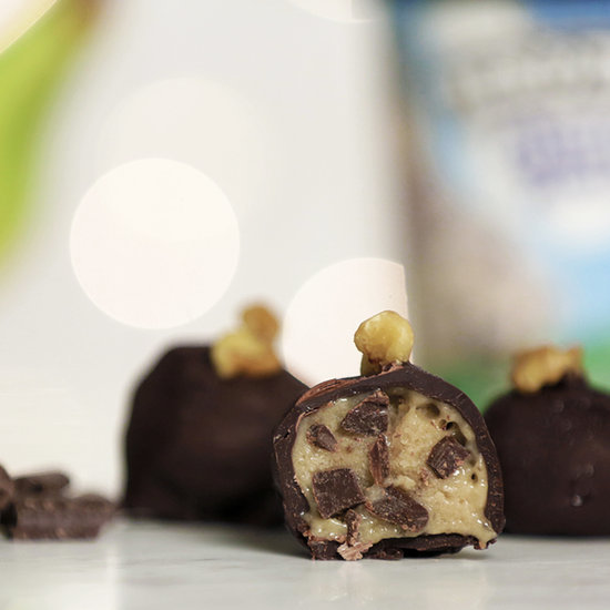 Banana Ice Cream Bonbons