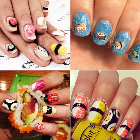 13 Sushi Manicures That Will Make You Want to Bite Your Nails