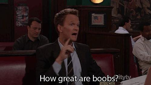 You've learned to love what you've got! Small boobs are awesome!