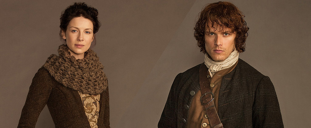 Outlander's Official Character Portraits: Jamie and Claire Come to Life