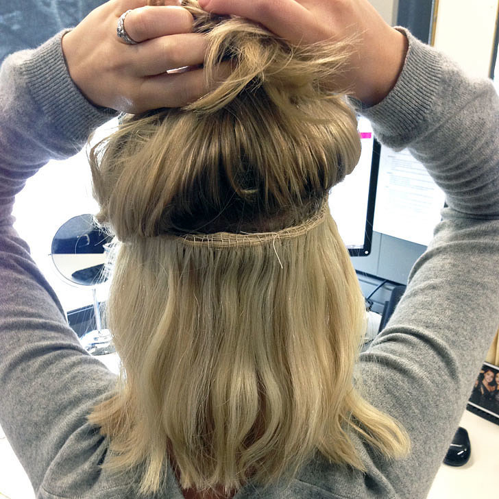 How does a hair weave work tape on and off extensions how does a hair weave work 110 pmusecretfo Images