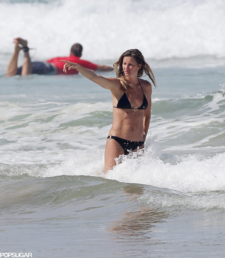 Gisele Bündchen and Her Sister Flaunt Their Good Genes in Bikinis