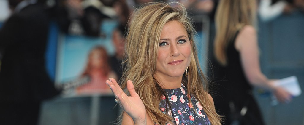 """Jennifer Aniston: Justin Theroux """"Will Put a Gun to My Head If I Touch My Face"""""""