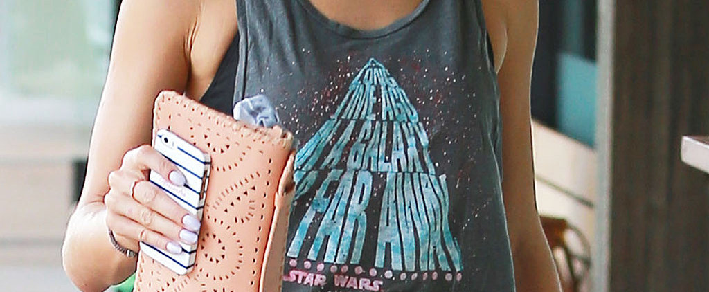 You'll Never Guess Which Celeb Showed Off Her Love of Star Wars at SoulCycle