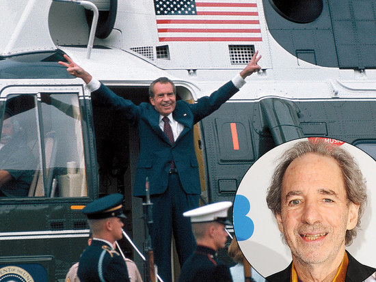On the 40th Anniversary of Richard Nixon's Resignation, See Harry Shearer Re-Enact the Historic Moment