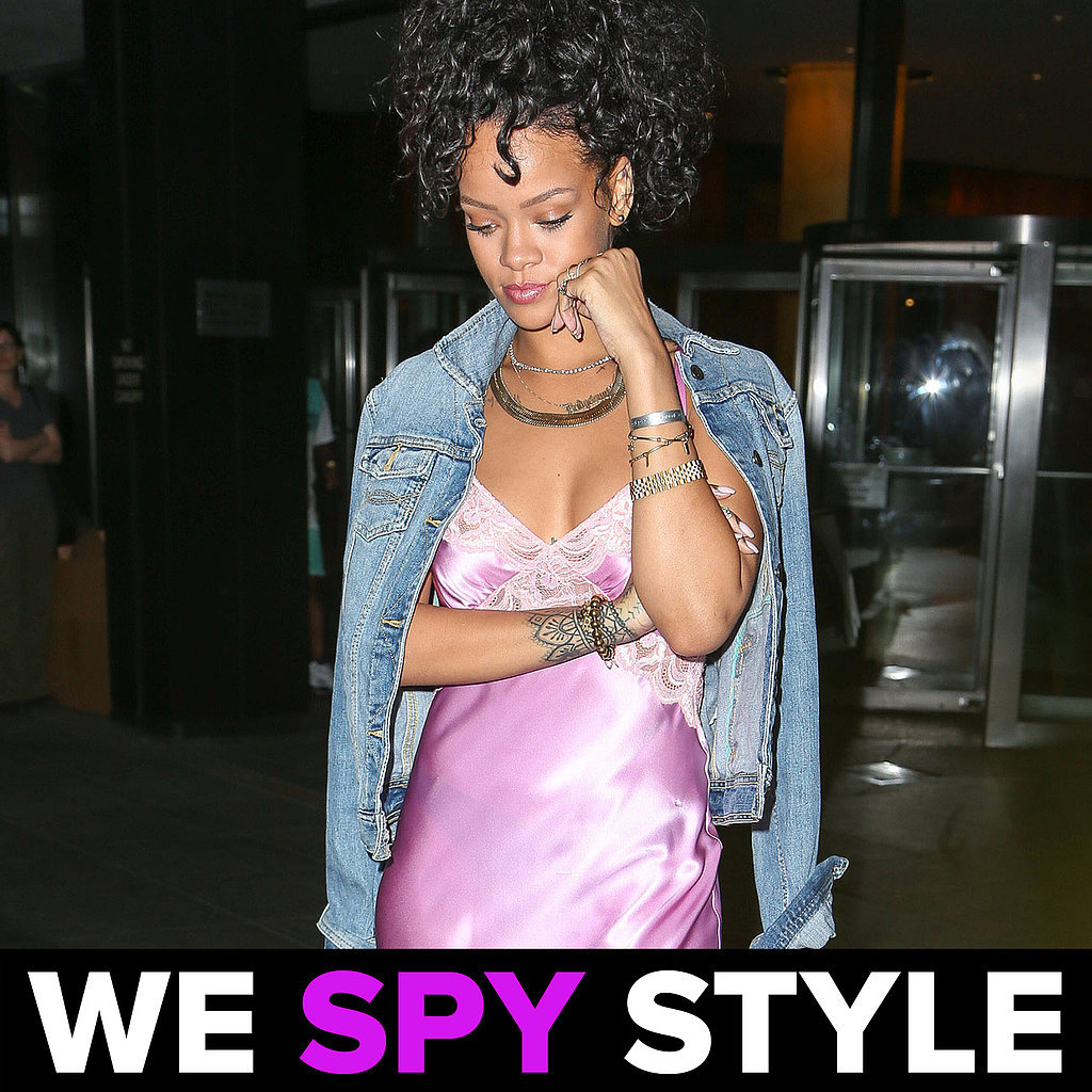 We Spy Style Rihanna Wears Bad Slip Dress | Video