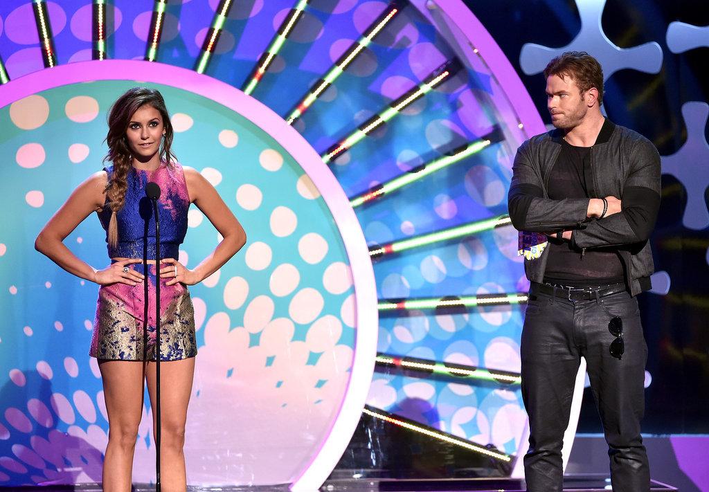 Nina Dobrev Brings Her Sexy, Single Self to the Teen Choice Awards