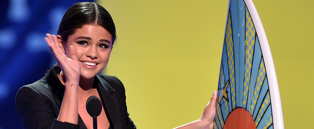 "Selena Gomez Gets Emotional About Her ""Personal Stuff"" at the Teen Choice Awards"