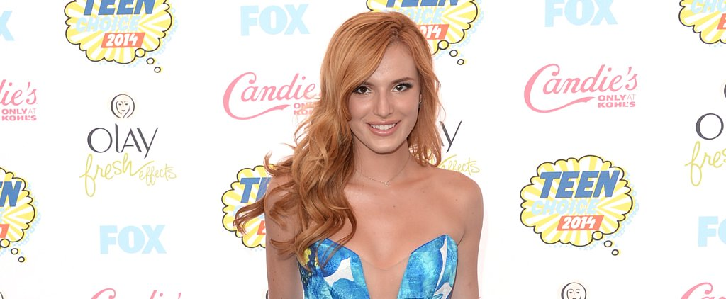 We Can't Believe Who Designed Bella Thorne's Dress