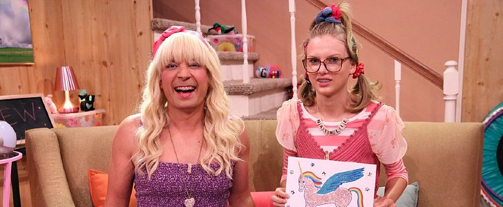 "Taylor Swift Makes a Really Great Dork in Jimmy Fallon's ""Ew"" Skit"