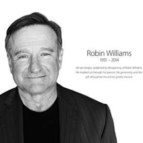 Apple's Tribute to Robin Williams