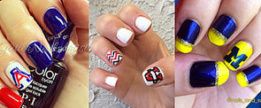 March Madness Nail Art That Gives a New Meaning to Spirit Fingers