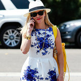 Reese Witherspoon's Blue and White Dress | Video
