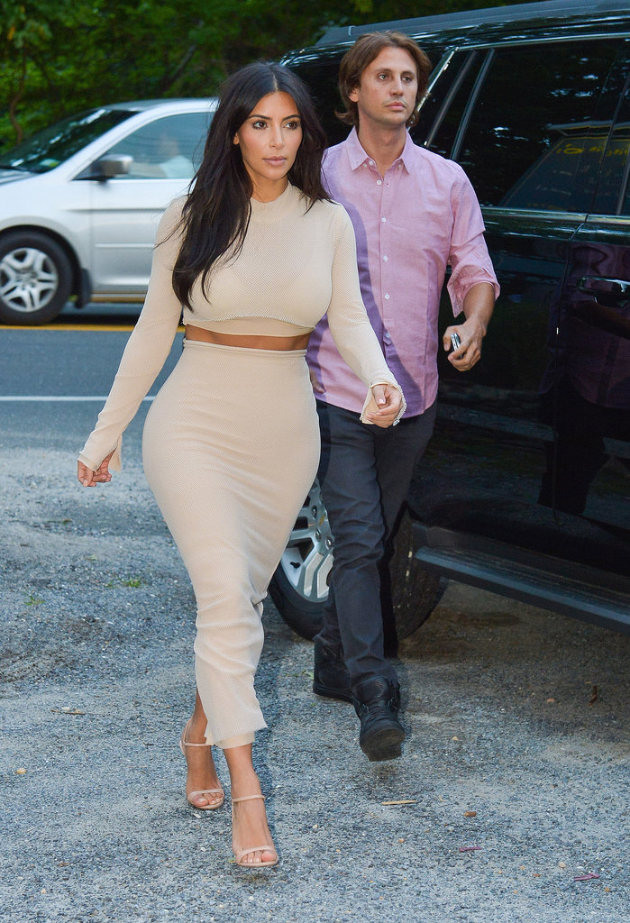 Kim Kardashian's Nude Dress