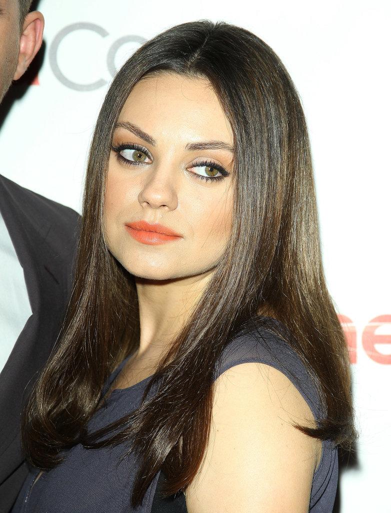 Mila Kunis Hair and Makeup Pictures | POPSUGAR Beauty Mila Kunis